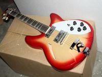 12 cordes guitares en porcelaine achat en gros de-Meilleure guitare de luxe en porcelaine Deluxe Model 360/12 STRING