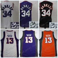 Compra Basket Steve Nash-PHX 2017 Throwback Basketball Jersey Uomo Donna Gioventù, Firma bambini, 34 Charles Barkley 13 Steve Nash, Retro Kids 4 All Star CB SN
