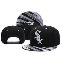 Wholesale Buy For Men Wholesale - Chicago White Sox Snapback Baseball Team Hats Baseball Cap for Men Women Caps Buy Hats Online with Various Styles Snapback Hats and Caps