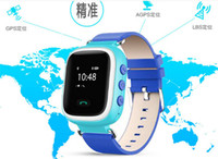 1pcs Smart Phone Watch Enfants Kid Montre bracelet GSM GPRS GPS Locator Tracker Anti-Lost Smartwatch Child Guard pour Android Q60