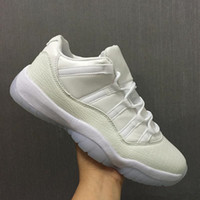 2018 Commercio all'ingrosso New Air Retro 11 Low GG Heiress XI uomini bianchi scarpe da basket donne sportive trainer designer sneakers taglia con la scatola 36-47