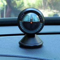 Wholesale Inclinometer Tilt Sensor - Interior Accessories Ornaments Car Inclinometer and Tilt Gauge For off-road vehicle and self-driving travelling Supplies inclinometer sensor