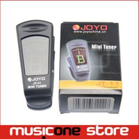 Wholesale Bass Guitars Accessories - Clip-On Backlit LCD guitar Chromatic Tuner Joyo JT-11guitar accessories Free shipping MU0064