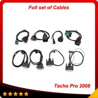 Wholesale Unlocking Cable Universal - Tacho Pro 2008 Unlock July Version full set cableTacho Universal Dash Programming Tool just full set cable In stock