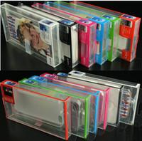 boîte de téléphone galaxy s4 achat en gros de-PVC Emballage de vente au détail Boîte d'emballage universel Boîtes en plastique pour téléphone Case iphone 6 6S 4 5 5S 5c SE SAMSUNG Galaxy s3 s4 s5 bord S6 OEM service