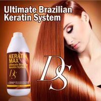 Wholesale Keratin Hair Straightening Wholesale - New ULTIKARE Brazilian keratin treatment formalin 5% 8% 12% 1000ml hair straightening and Repair damaged hair free shipping