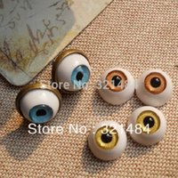 Cabochons resina 30pair 18 millimetri Gioielli bulbi oculari Eye Ball Toy Doll Eyes perline fai da te