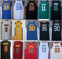 Wholesale Blue Balls Xl - 2017 18 newest Andrew Wiggins Lonzo BAll Jersey Carmelo Anthony Towns stEphen CUrry LEBron JAmEs Harden KyrIe IrvIng Giannis antetokounmpo