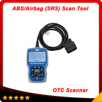 Wholesale Srs Scanning Tools - 2015 New Arrival OBD 2 Code Reader OTC OBDII CAN ABS Airbag (SRS) Scan Tool OBD2 EOBD Code Reader Free Shipping