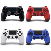 Wholesale joystick vibration game - Bluetooth Wireless PS4 Controller for PS4 Vibration Joystick Gamepad PS4 Game Controller for Sony Play Station 4 5 Colors