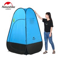 Wholesale Bathroom Game - Wholesale- Naturehike camping tent Quick Automatic Opening Washing Toilet Tent Fishing Restroom Portable Outdoor Tent Mobile bathroom