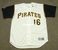 Cheap Custom AL OLIVER Pittsburgh Pirates 1969 Majestic Throwback Home Baseball Jersey Retro Mens Jerseys