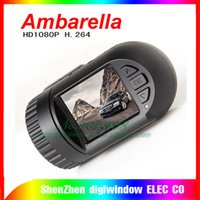 Wholesale Car Black Box Gps Logger - Full HD 1080p Ambarella Mini Car dvr camera with 1.5 inch lcd car black box +( GPS Logger Optional )