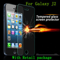 Wholesale Screen Protector Film Ace - For Galaxy J2 J1 ACE J110 J3 2016 Tempered Glass Screen Protector Film For LG G4 BEAT BELLO 2 For SONY Z5 MINI
