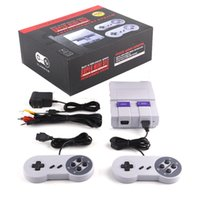 Wholesale Interactive Kid - Super Famicom Mini Classic SFC TV Handheld Game Console Entertainment System Buit-in 400 Classic games SFC Games Console Xmas Gift 3008033