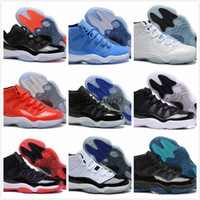 Wholesale Advanced Shoes - retro 11 UNC Chicago concord red bred Legend gamma blue pantone 11s XI men women basketball shoes sneakers Advanced Quality Version