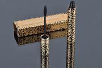 rimel leopardo envío gratis al por mayor-12 piezas Envío gratuito máscara de pestañas MAKEUP Leopardo más bella más más y más larga máscara