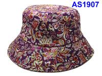 Wholesale Checked Bucket Hat - Basketball Sports Bucket Bucket hats baseball Sports Bucket Hats mens Blacid Wash Denim Wide Brim Hats Winter Outdoor sport Fisherman Caps