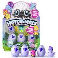 High Copy Hatchimals Colleggtibles Season 1 Nest 4-Pack + Bonus Bundle Baby Mini Egg Carton Collection Игрушки для детей Рождественский брифинг-подарок