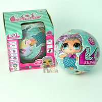 LOL Surprise Doll Series Dress Up Giocattoli Kids Cartoon Egg Realistic Baby Dolls Lil Sisters Mix Style Novità