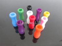 Wholesale Soft Drip Tip - 510 atomizer colorful drip tips silicone drip tip 510 soft drip tip 510 e cigarette mouthpiece plastic drip tips soft vaporizer Glass tips