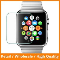 Для Apple Watch iWatch 38 мм и 42 мм Premiunm закаленное стекло 0.33mm Screen Protector Film Cover 9H Ultra Thin для Smart Watc