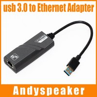 Wholesale Ethernet Rj45 Connector Usb - VK-RTL8153 usb 3.0 to Fast Ethernet LAN RJ45 Network Cable card Adapter 28cm 10Mbps or 100Mbps Network For MAC For Win7 For Laptop 10pcs up