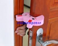 Wholesale Door Guard Protector Baby - New 20 X Children Safety gate Door Finger Corner protection Guard Child Kids Baby Safe Protector Door Stopper Cartoon