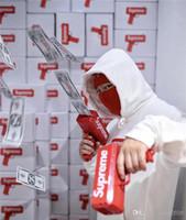 Wholesale Fantasy Money - 2017 Top Sale Cash Cannon Money Gun Decompression Fashion Toy Make It Rain Money Gun With Battery Christmas Gift Toys interesting toys111