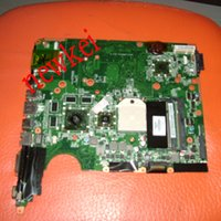 Wholesale Ddr2 1g - Wholesale-571187-001 for HP PAVILION DV6 motherboard DAUT1AMB6E0 motherboard DDR2 HD4530 1G with 8 vide memory Fully tested&Free