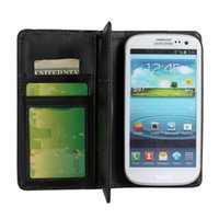 Wholesale Galaxy S3 Wallet Case Multifunction - For Samsung Galaxy S3 i9300 Multifunction Wallet Leather Case Cover