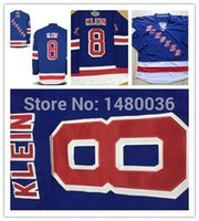 Wholesale Sewing Cotton Discount - 2016 #8 Kevin Klein Jersey Discount New York Rangers Jersey Royal Blue NHL NYR Jerseys 100% Sewn Hockey Jersey