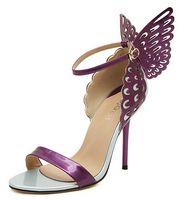 sandálias de salto alto venda por atacado-2018 sexy bow stiletto saltos mulheres bombas primavera verão strass do vintage sapatos de salto alto ultra mulheres dedo apontado sandália bombas