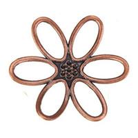 bijoux en métal achat en gros de-métal fleur charme vintage cuivre grand nouveau bricolage mode bijoux trouver et accessoires fournisseurs pour bijoux artisanat à la main 44mm 50pcs
