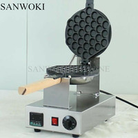 Bubble Waffle Maker Цифровой электрический китайский Hong Kong Eggettes Puff Waffle Iron Maker Machine Bubble Egg Cake Oven