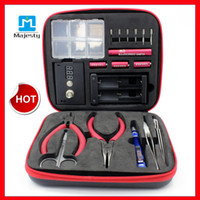 2015 nouvelle conception Magic Stick CW E Cigarette Outil bricolage RDA Coil Box Maître Vape fil machine de enroulement Koiler Kit trousse d'outils E-cig
