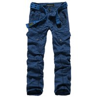 Wholesale Trousers For Hiking - Men Clothing Fashion Mens Red Cargo Pants Hip Hop Harem SweatPants Slim Straight Pants Chinos Casual Trousers For Hiking & Camping 9718
