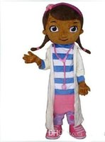 Wholesale Doctor Mascot Costumes - 2015 Hot Doctor Mcstuffins mascot costume Mcstuffins adult mascot costume doc mcstuffins mascot costume