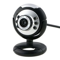 Wholesale hd led laptop - HD MP LED USB Webcam Camera with Mic Night Vision for Desktop PC Laptop