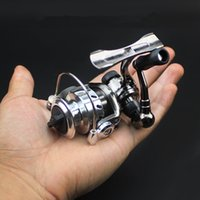 Ice Fishing Reel Mini Spinning Reels Pequena liga de zinco All Metal Spool Delicate Front Drag MN100
