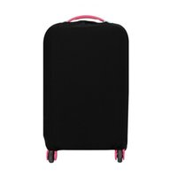 Wholesale Cover Luggage - Wholesale- Elastic Solid Luggage Protective Cover Suitcase Storage Bag Organizer Dustproof Case Travel Wholesale Bulk Accessories Supplies