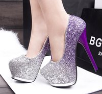 Wholesale Korean Sexy High Heels - Immediately burst of high-heeled shoes -313-204 Korean fashion fine with nightclub sexy high-heeled shoes   super waterproof thin low shoes