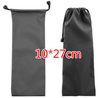 Wholesale Case Jewelry Mobile - Free EMS DHL 100pcs 10*27cm Waterproof Soft Universal Self Selfie Stick Bag Mobile Phone Case Pouch Phone Bag