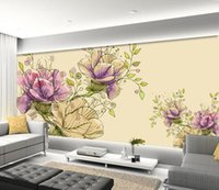 fondos de escritorios grandes flores de la pared del sof tv del fondo del papel