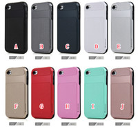 Wholesale Slim Armor Iphone 4s - Caseology Vault Series Slim Hybrid Layer Armor Hard PC Soft TPU Case For Iphone 7 SE 6 6S Plus 5 5S 4 4S Stereo Heavy Duty Impact Cover Skin