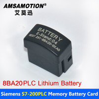 Wholesale Batteries Siemens - Good Quality Amsamotion Battery 6ES7291-8BA20-0XA0 Suitable Siemens S7-200 PLC 2V Lithium Battery Card With Free shipping
