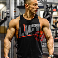 Wholesale Body Building Tanks - Wholesale-Golds GYM Tank Tops Mens GOLD POWERHOUSE Camouflage vest Fitnes Men Stringer Body Building TANK TOPS