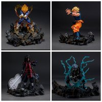 Wholesale Bleach Resin - Anime Toy Figure Collection Effect Base Figure Model Resin Table Display Stand Model Scenes Accessories For DBZ One Piece Naruto Bleach SHF