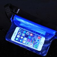 Wholesale Surf Bags - water proof pouch waist bag for iphone samsung xiaomi jiayu htc waterproof universal sports bag for surfing swimming new fashion