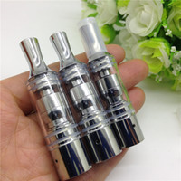 Wholesale Gt Vapors Cigarette - GAX GT Pyrex glass atomizer rebuildable tank max wax dry herb vaporizer pen herbal vaporizer vapor cigarettes kits for EGO vision 2 battery